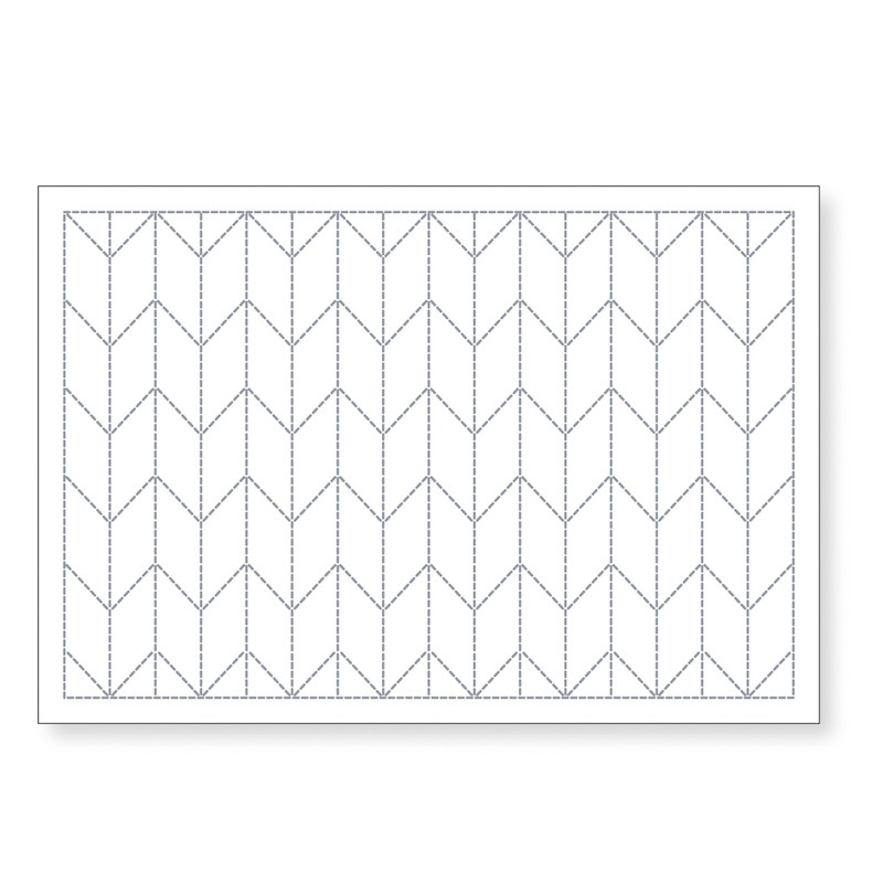 Sashiko Arrows Placemat L-1002/L-2002