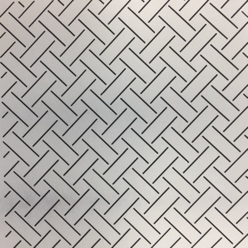 Quilting Stencil Basket Weave Small QCI-BS28