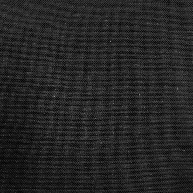Takumi Cotton Fabric Plain Black 11N-32A