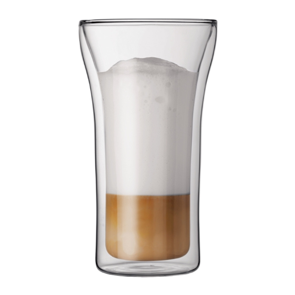Bodum Assam 13 oz Double Wall Thermo-glasses. Set of 2