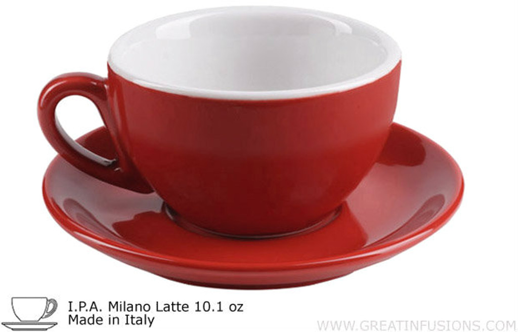 Red Latte Cups