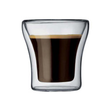 Bodum Assam 7 oz Double Wall Thermo-glasses. Set of 2