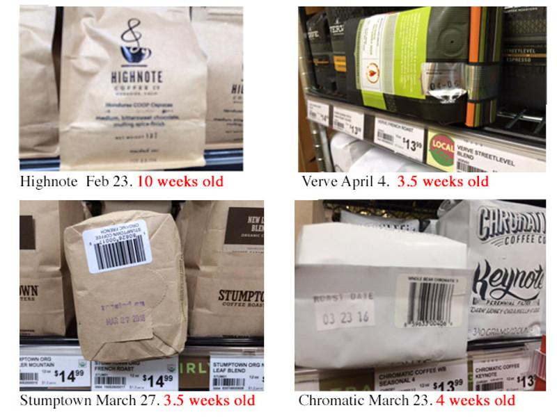 Trendy Roasters Selling Old Coffee