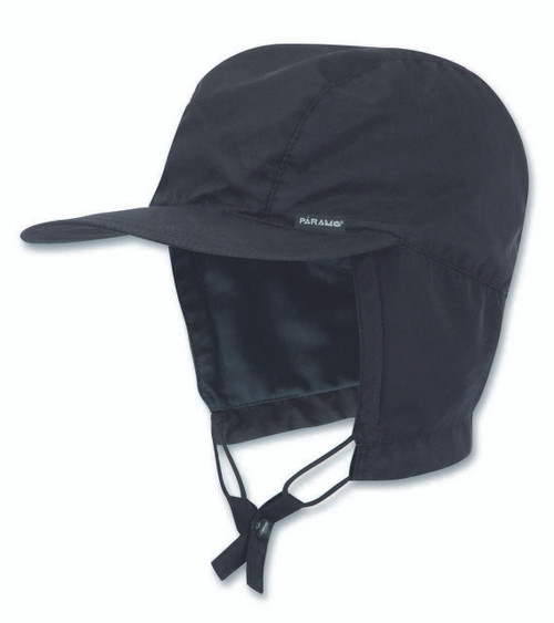 Páramo Waterproof Cap: Black