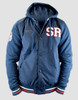 Sydney Roosters 2016 Mens Hooded Baseball Jacket