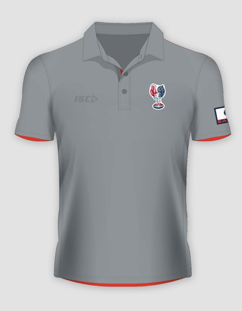 Sydney Roosters 2016 Mens Heritage Polo - Grey