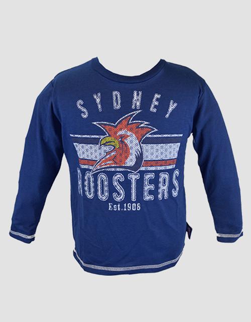 Sydney Roosters 2016 Infants Long Sleeve Tee
