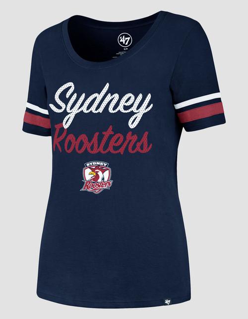 Sydney Roosters 47 Brand Womens Halfback Scoop Tee