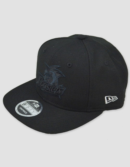 Sydney Roosters New Era 9FIFTY Black Snapback