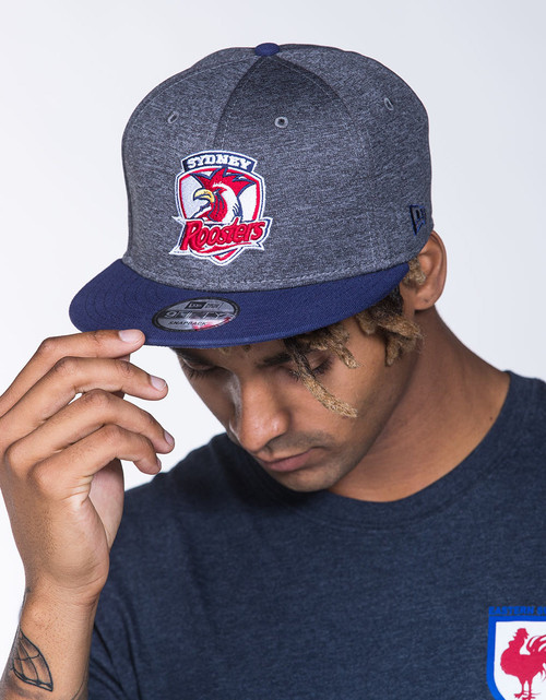 Sydney Roosters New Era 9FIFTY Shadow Tech Logo Snapback