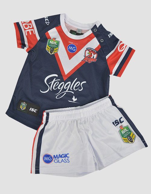 Sydney Roosters 2018 Toddlers Home Jersey Set