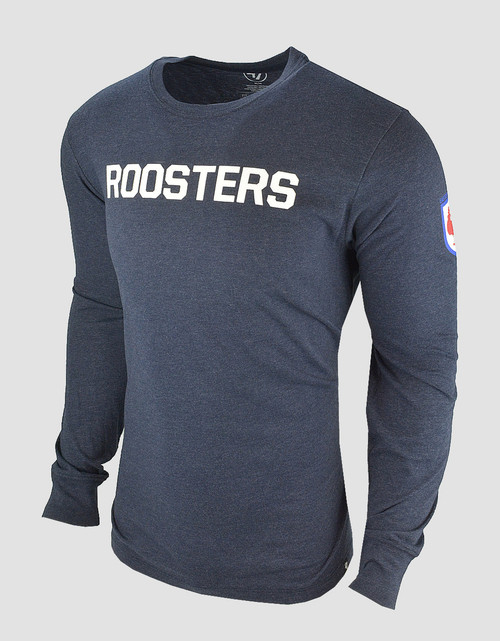 Sydney Roosters Mens 47 Brand Stacker Club L/S Tee