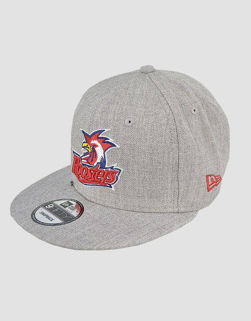 Sydney Roosters New Era 9FIFTY Heather Logo Snapback