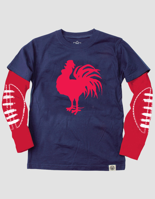 Sydney Roosters Kids Wes & Willy 2 in 1 Tee