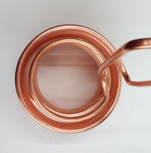 25 Copper Double Coil Immersion Chiller 3 8 Inch Tubing