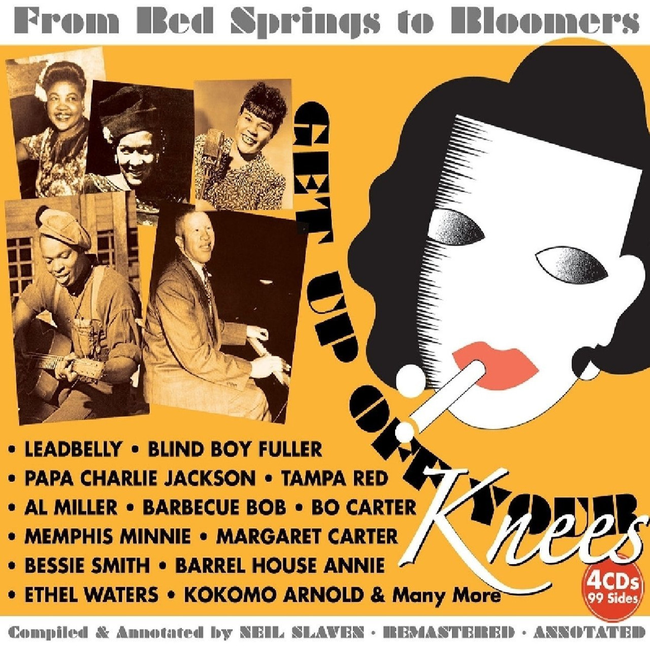 USA ONLY: Get Up Off Your Knees: From Bed Springs To Bloomers - 4 CD SET PLUS 8 ISSUES & FREE SHIPPING