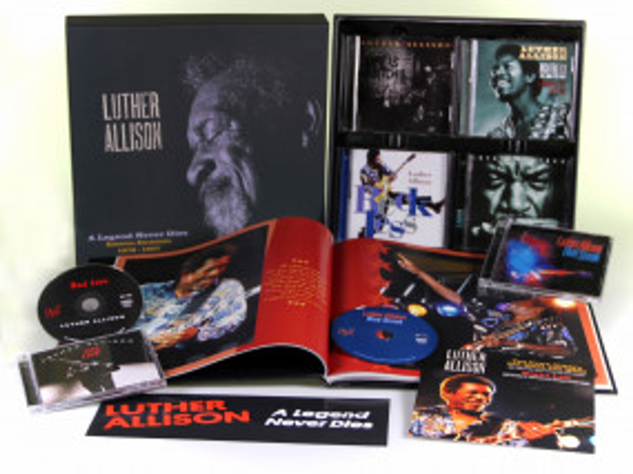 Luther Allison - A Legend Never Dies Essential Recordings 1976-1997