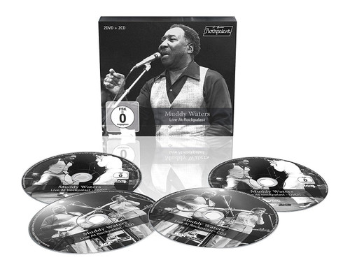 MUDDY WATERS - LIVE AT ROCKPALAST PLUS 8 ISSUES  INT