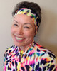 Diving and swimming headband in a fast-drying Lycra blend from divegoddess.com