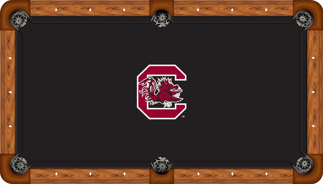 South Carolina Gamecocks 9 Foot Custom Pool Table Felt