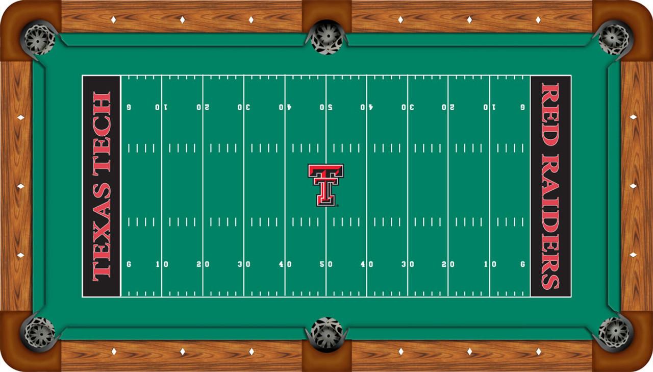 Texas Tech Red Raiders Foot Custom Pool Table Felt CueSightcom - Raiders pool table