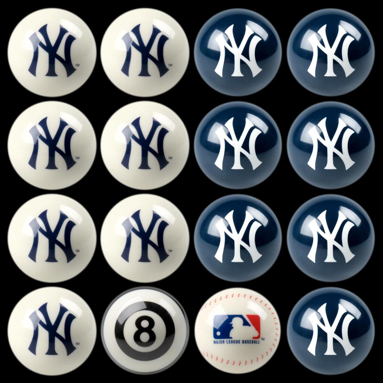 Ny yankees pool balls cuesight ny yankees pool balls biocorpaavc Images