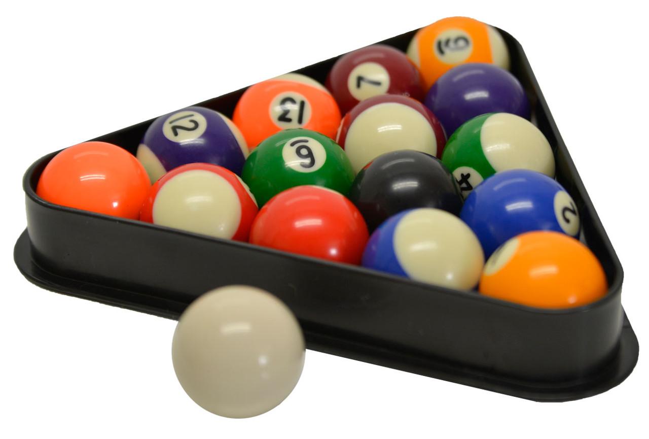 Miniature Pool and Billiard Balls Set by Sterling - 1-1/2\u201d -  sc 1 st  CueSight.com & Miniature Pool and Billiard Balls Set by Sterling - 1-1/2\u201d - with ...