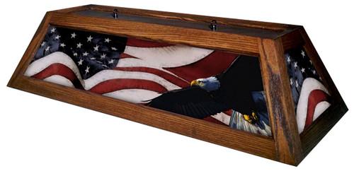 Patriot Table Light Brown Frame