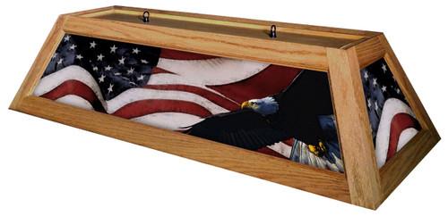 Patriot Table Light Oak Frame