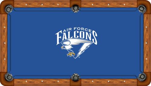 Air Force Falcons 9 foot Custom Pool Table Felt