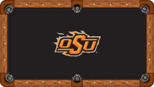 Oklahoma State Cowboys 8 Foot Custom Pool Table Felt