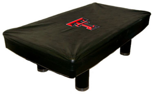 Texas Tech Red Raiders Foot Custom Pool Table Cover CueSightcom - Raiders pool table