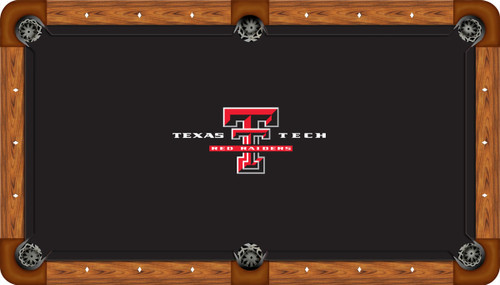 Texas Tech Red Raiders 8 Foot Custom Pool Table Felt
