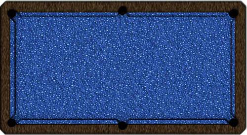 ArtScape Blue Drops Pool Table Cloth