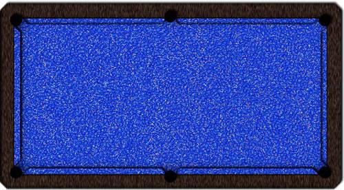 ArtScape Blue Confetti Pool Table Cloth