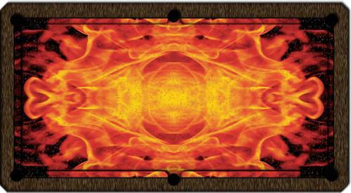 ArtScape Flame Pool Table Cloth