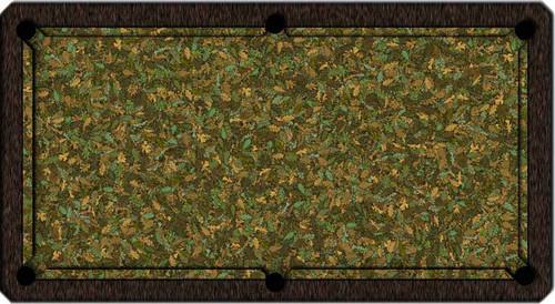 ArtScape Oak Leaves Pool Table Cloth