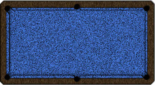 ArtScape Blue Cells Pool Table Cloth