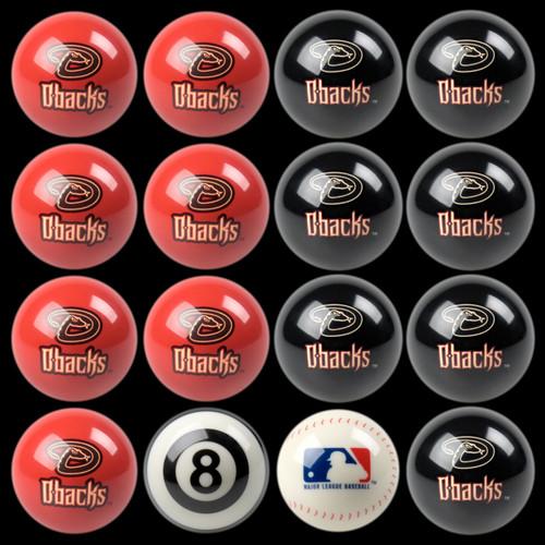 Arizona Diamondbacks Pool Balls