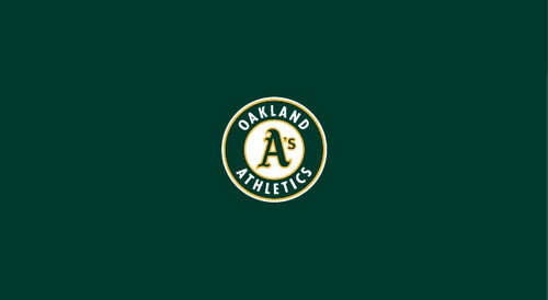 Oakland Athletics Pool Table Felt 8 Foot Table