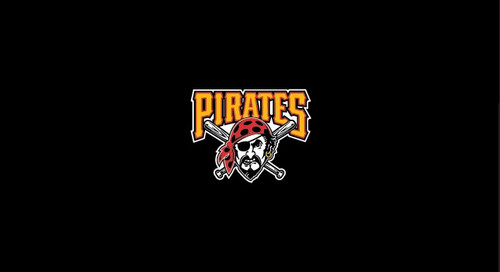 Pittsburgh Pirates Pool Table Felt 9 Foot Table