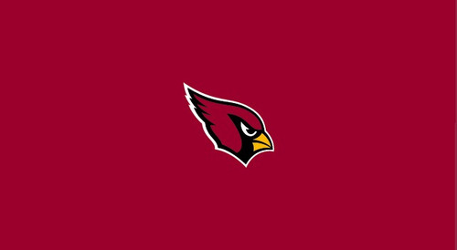 Arizona Cardinals Pool Table Felt for 9 foot table