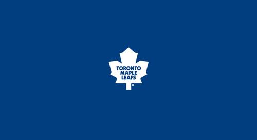 Toronto Maple Leafs Pool Table Felt 9 foot table