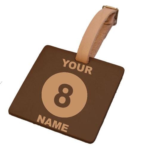 Custom 8-Ball Tag (Square)