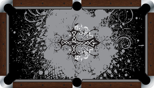 VIVID Cross 9' Pool Table Felt
