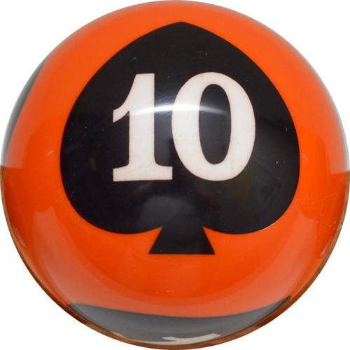 Crown Poker Games - Individual 10 of Spades Ball