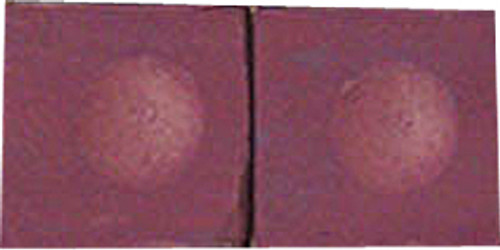 Silver Cup Pool Cue Chalk, Plum 2-Piece Pack