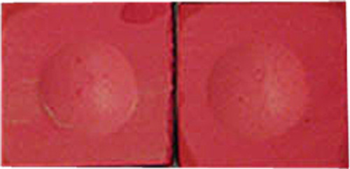 Silver Cup Pool Cue Chalk, Red 2-Piece Pack