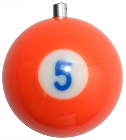 Billiard Ball Christmas Tree Ornaments - #5
