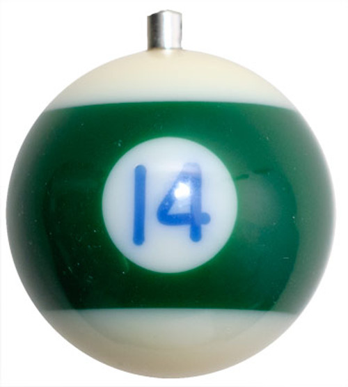 Billiard Ball Christmas Tree Ornaments - #14